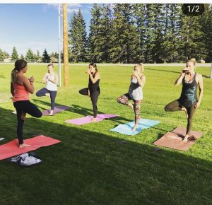 Hard Knox Brewery Small Batch Craft Beer Yoga and Beer Event