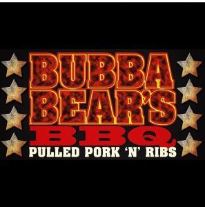 Hard Knox Brewery Craft Beer Bubba Bears BBQ Pulled Pork and Ribs Promotional Poster