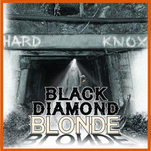 Hard Knox Brewery Black Diamond Blonde Craft Beer Label