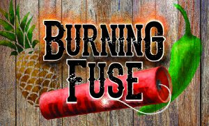 Hard Knox Brewery Burning Fuse IPA Craft Beer Label Promotion