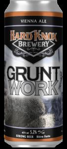 Hard Knox Brewery Tall Boy Grunt Work Vienna Ale