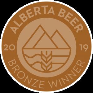 Hard Knox Brewery Alberta Beer Bronze Winner 2019 Award in Brown Colour