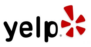 Hard Knox Brewery Yelp Logo Black Text with Bright Red