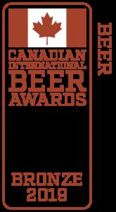 Hard Knox Brewery Canadian International Beer Awards Banner 2019