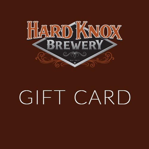 Hard Knox Brewery Gift Card Promotional Banner