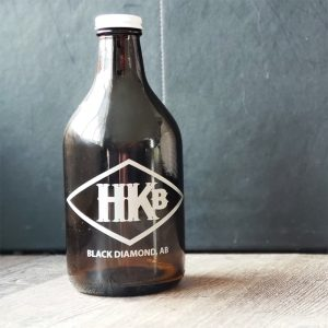 Hard Knox Brewery Growler Sits Empty Awaiting A Refill