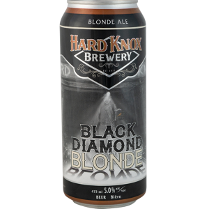 Hard Knox Brewery Black Diamond Blonde Ale in Tall Can