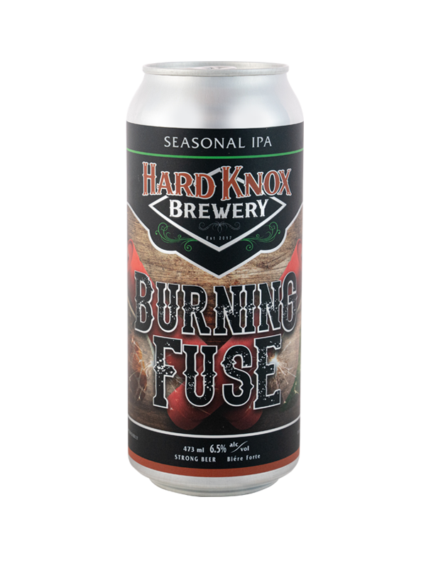 Hard Knox Brewery Burning Fuse Seasonal IPA in Tall Can