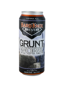 Hard Knox Brewery Grunt Work Vienna Ale in Tall Can