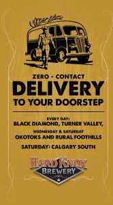 Hard Knox Brewery Offers Zero Contact Delivery Straight to Your Doorstep