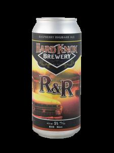 Hard Knox Brewery R&R Raspberry Rhubarb Ale in Tall Can
