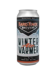 Hard Knox Brewery Winter Warmer Seasonal Ale in Tall Can