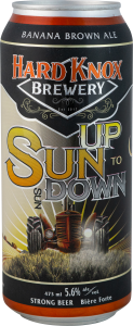 Hard Knox Brewery Sun Up to Sun Down Banana Brown Ale in Tall Can