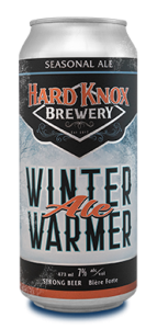 Hard Knox Brewery Beer Winter Warmer Seasonal Ale in Tall Can Cropped Small