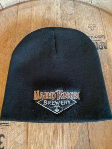 Hard Knox Brewery Black Unisex Beanie with Coloured Logo