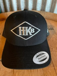 Hard Knox Brewery Embroidered Snapback in Black with Large Diamond Logo