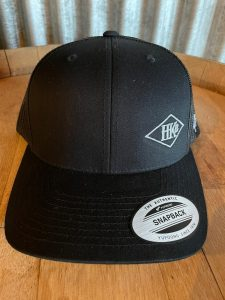 Hard Knox Brewery Embroidered Snapback in Dark Grey with Small Diamond Logo