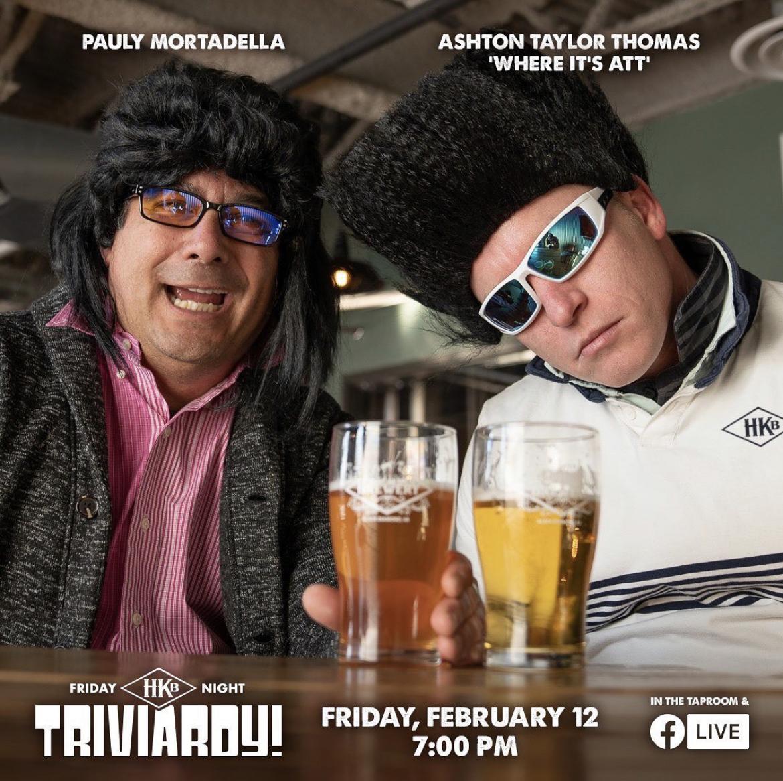 Hard Knox Brewery Trivia Night With Pauly Mortadella and Ashton Taylor Thomas