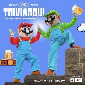 Hard Knox Brewery Triviardy Trivia Night with Marius and Linguini