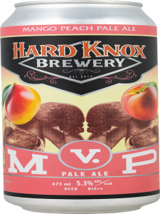 Hard Knox Brewery Mango Peach Pale Ale Tall Can